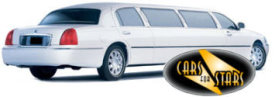 Limo Hire Baxley - Cars for Stars (Watford) offering white, silver, black and vanilla white limos for hire