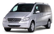 Chauffeur driven Mercedes Viano people carrier - Up to 7 passengers in comfort, from Cars for Stars (Watford)